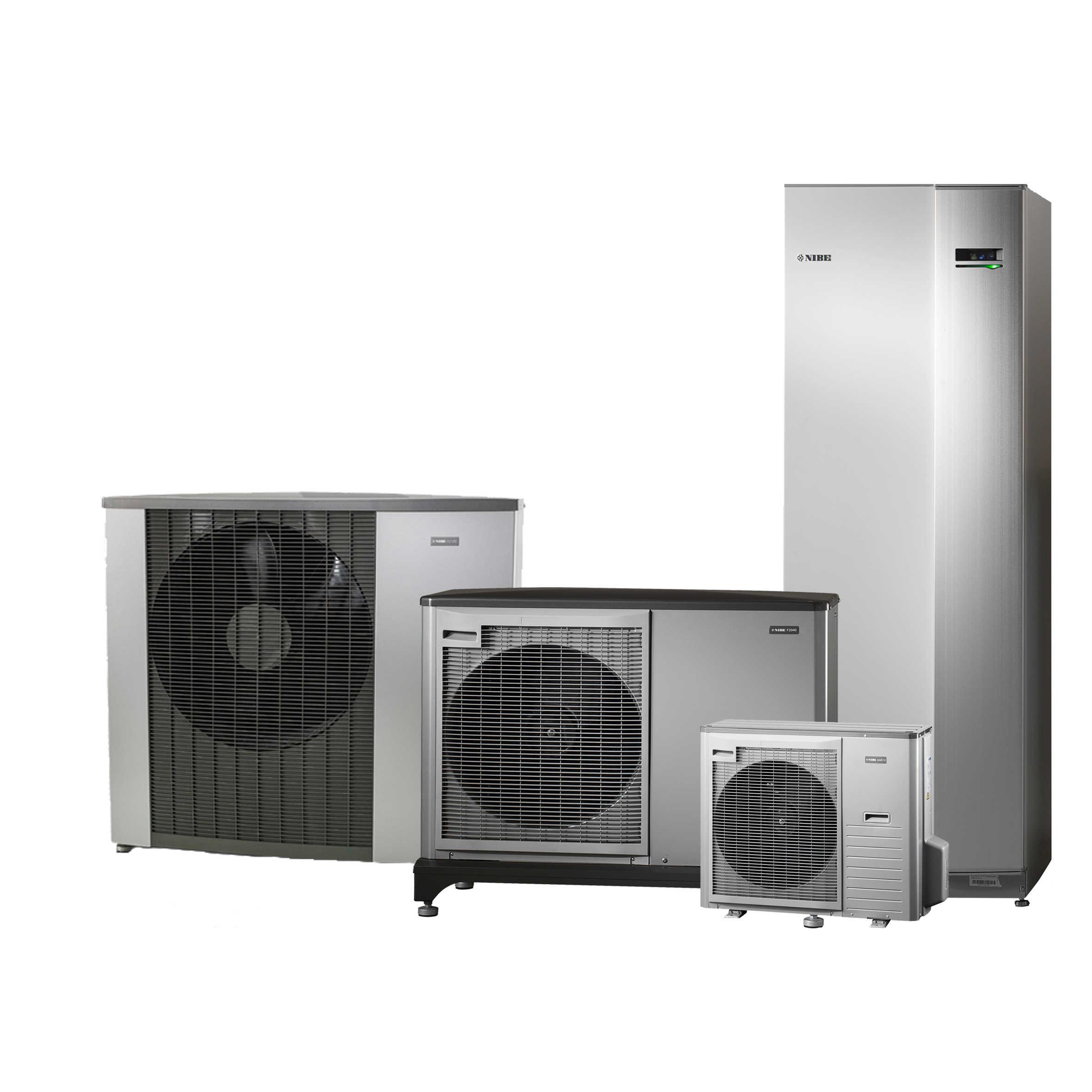 lucht/water warmtepompen